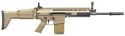 for SCAR rifles with charging handle installed on ejection port side.
