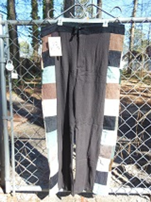 Long Side Panel Patchwork Pants (large)
