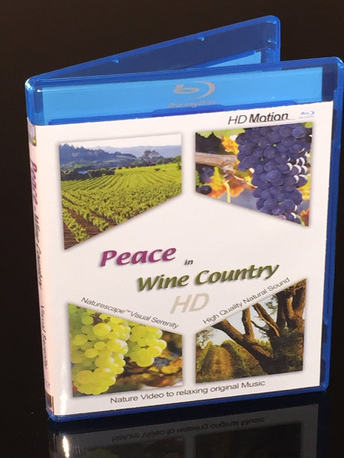 Peace in Wine Country - BluRay relaxation video