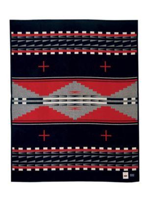 Hidatsa Earth Blanket woven by Pendleton Woolen Mills