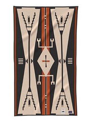 Cheyenne Eagle Saddle blanket by Pendleton Woolen Mills.
