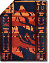 Grand Canyon Pendleton blanket by Ed Mell