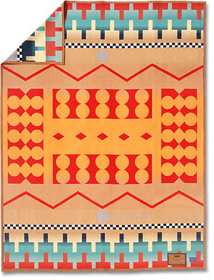 Geronimo Queen Size blanket woven by Pendleton Woolen Mills
