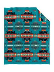 Pendleton Chief Joseph Turquoise Blanket