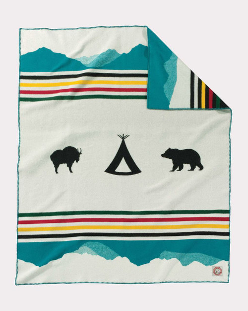 Pendleton Glacier National Park 100th Anniversary Blanket