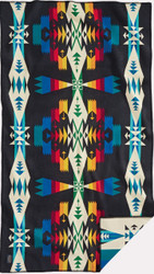 Pendleton Tucson Black Saddle Blanket