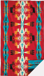 Pendleton Tucson Scarlet Saddle Blanket