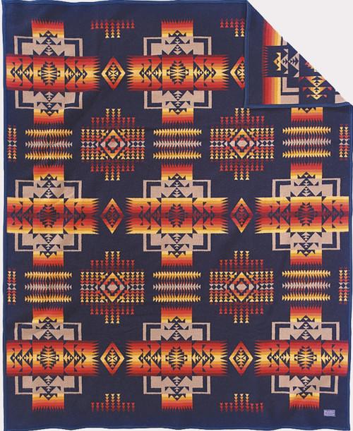Pendleton Chief Joseph Indigo or Navy Blanket