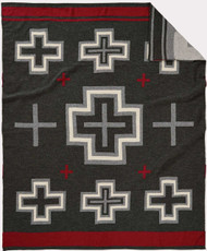 Pendleton San Miguel Charcoal Knit Throw