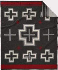 Pendleton San Miguel Charcoal Knit Throw