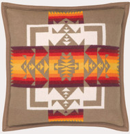 Pendleton Chief Joseph Khaki Decorative Pillow