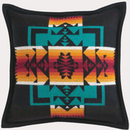 Pendleton Chief Joseph Black Decorative Pillow