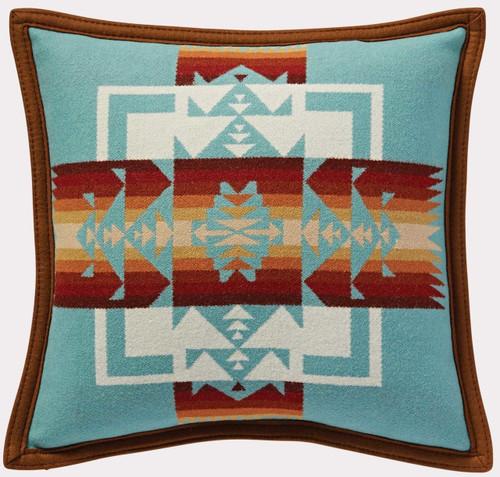 Pendleton Chief Joseph Aqua Decorative Pillow