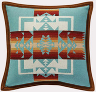 Pendleton Chief Joseph Aqua Decorative Pillow