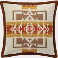 Pendleton Chief Joseph Cream / Wheat Decorative Pillow