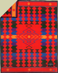 Chihuahua Trail Blanket by Ramona Sakiestewa woven by Pendleton Woolen Mills