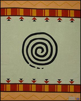 Tamaya Journey Blanket woven by Pendleton Woolen Mills
