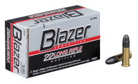CCI Blazer High Velocity .22 Long Rifle 40 Grain Solid	 Blazer Rimfire High Velocity