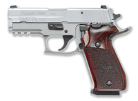 SIG Sig Sauer P220 Carry Elite Stainless .45ACP 3.9 Inch Barrel Stainless Slide Rosewood Grips SigLite Night Sights 8 Round