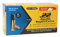 COI Aquila .22 Long Rifle 40 Grain Solid Point Standard Velocity Standard Velocity Rimfire Ammunition