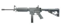 COL AR6951 9mm Parabellum - 9x19mm 16.1 Inch Barrel Adjustable Post Front Sight Magpul Gen2 Back-Up rear sight Matte Black 32 Round