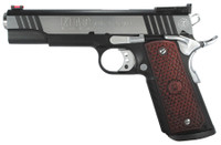 AMC MAC 1911 Classic .45 ACP 5 Inch Barrel Black Chrome Finish Adjustable Rear Sight Hardwood Grips 8 Round	 MAC 1911 Classic