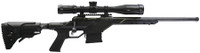 SAV Model 10 Stealth 6.5 Creedmoor 24 Inch Threaded Barrel Black Finish Scope Rail Monolithic Chassis Fab Defense GL-Shock Adjustable Stock 10 Round