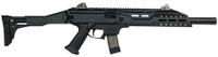 CZU CZ Scorpion EVO 3 S1 Carbine 9mm Luger 16.2 Inch Threaded Barrel 1/2x28 TPI Faux Suppressor Black 20 Round