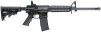 S&W Model M&P 15 Sport 2 5.56mm 16 Inch Barrel Matte Black Finish Adjustable Sights Adjustable Stock Black 30 Round