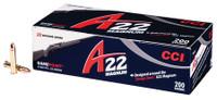 CCI A22 Ammunition .22 WMR 35 Grain Game Point 200 Rounds Per Box A22 22 WMR Ammunition