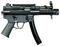 HKI SP5K Package 9mm 4.53 Inch Barrel Front Diopter Sight Picatinny Top Rail Bungee Sling 30 Round