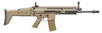 FNH SCAR 16S .223 Remington/5.56x45mm NATO 16.25 Inch Hard Chromed Barrel Side-Folding Polymer Stock Flat Dark Earth Finish 30 Round Detachable Box Magazine