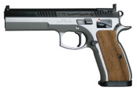 CZU CZ 75 Tactical Special 9mm Luger 5.4 Inch Barrel Dual Tone Finish 20 Round