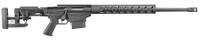 Rugers 18008 Precision Rifle Bolt 6.5 Creedmoor 24 MB 10+1 Folding Left Side Adjustable Black Stk Black