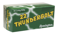 Remington Ammunition TB22B Thunderbolt 22 LR Round Nose 40 GR 500 RD BOXES- 6,500 RDS FREE SHIPPING