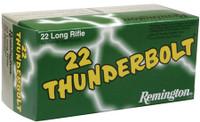 REM Thunderbolt .22 Long Rifle 40 Grain Round Nose 500 Round Bulk Pack Thunderbolt