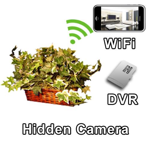 WiFi Plant Hidden Camera Spy Camera Nanny Cam
