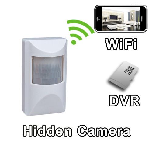 WiFi Motion Detector PIR Sensor Hidden Camera Spy Camera Nanny Cam