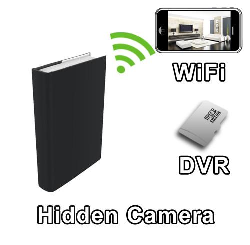 WiFi Book Hidden Camera Spy Camera Nanny Cam