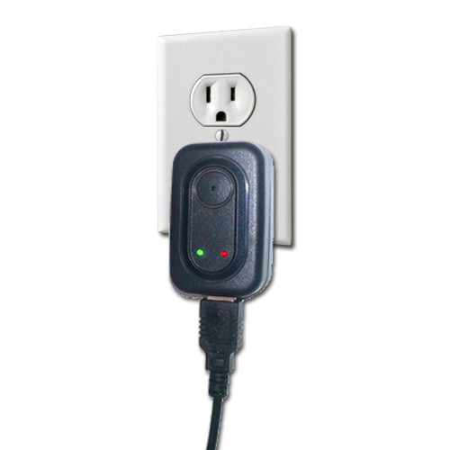 Wall Power Adapter Charger Hidden Spy Camera with Built-in DVR 720x480