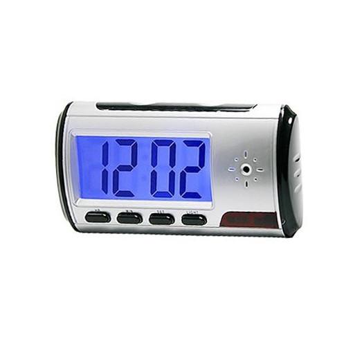 Alarm Clock Hidden Spy Camera with DVR 720x480