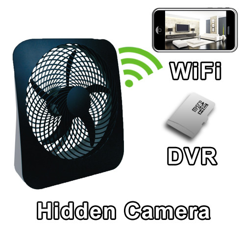 Fan Hidden Camera Spy Camera Nanny Cam Hidden Camera with WiFi DVR IP Live