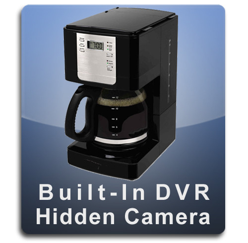 Coffee Maker DVR Series Hidden Camera Spy Camera Nanny Camera Automatic Drip Full Coffee Pot Style