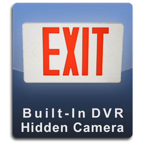 Exit Sign DVR Series Hidden Camera Spy Camera Nanny Camera