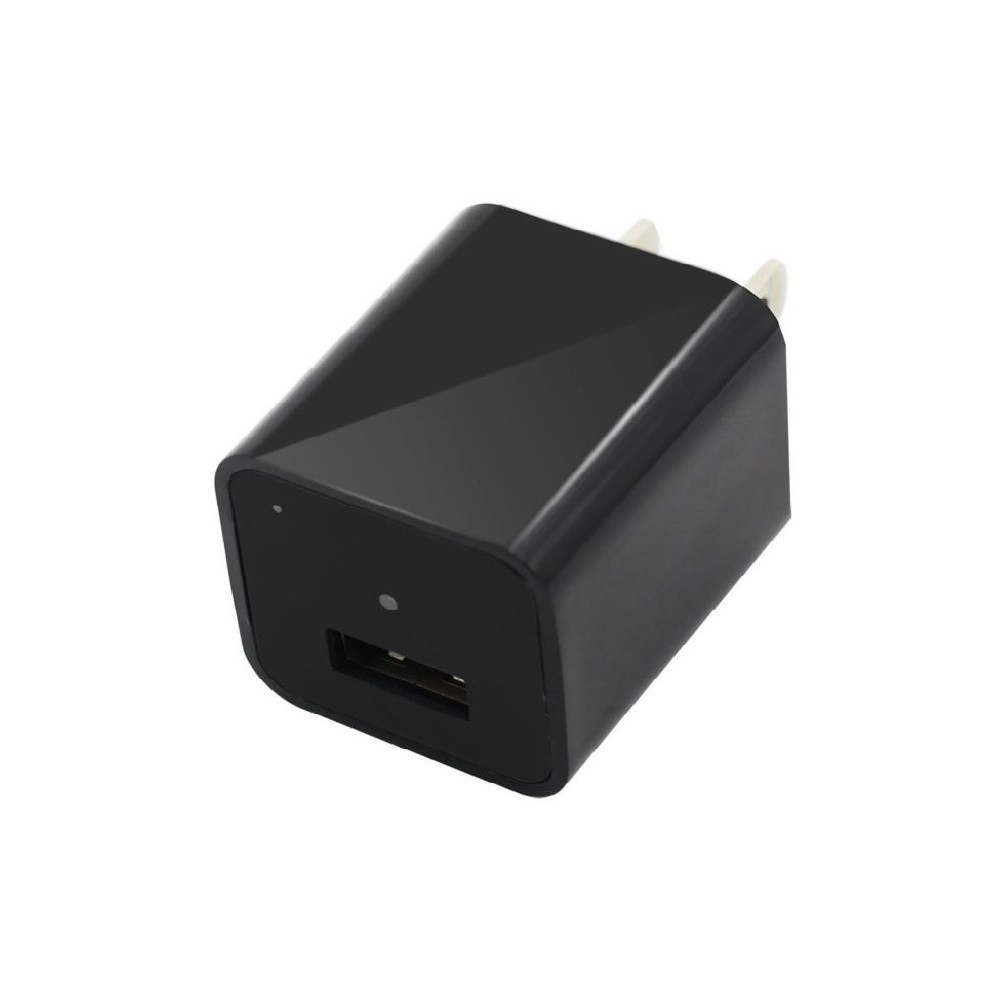 Functional USB Charger Hidden Camera with Built-In DVR 1920x1080