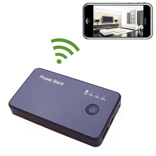 Black Box Power Bank Hidden Camera with DVR and WiFi 1920x1080