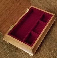 Jewelry Box Liner  for Irish Jewelry Chest or Sarah's Chest