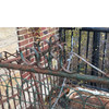 A17119 - Antique Revival Period Tubular and Woven Wire Gate