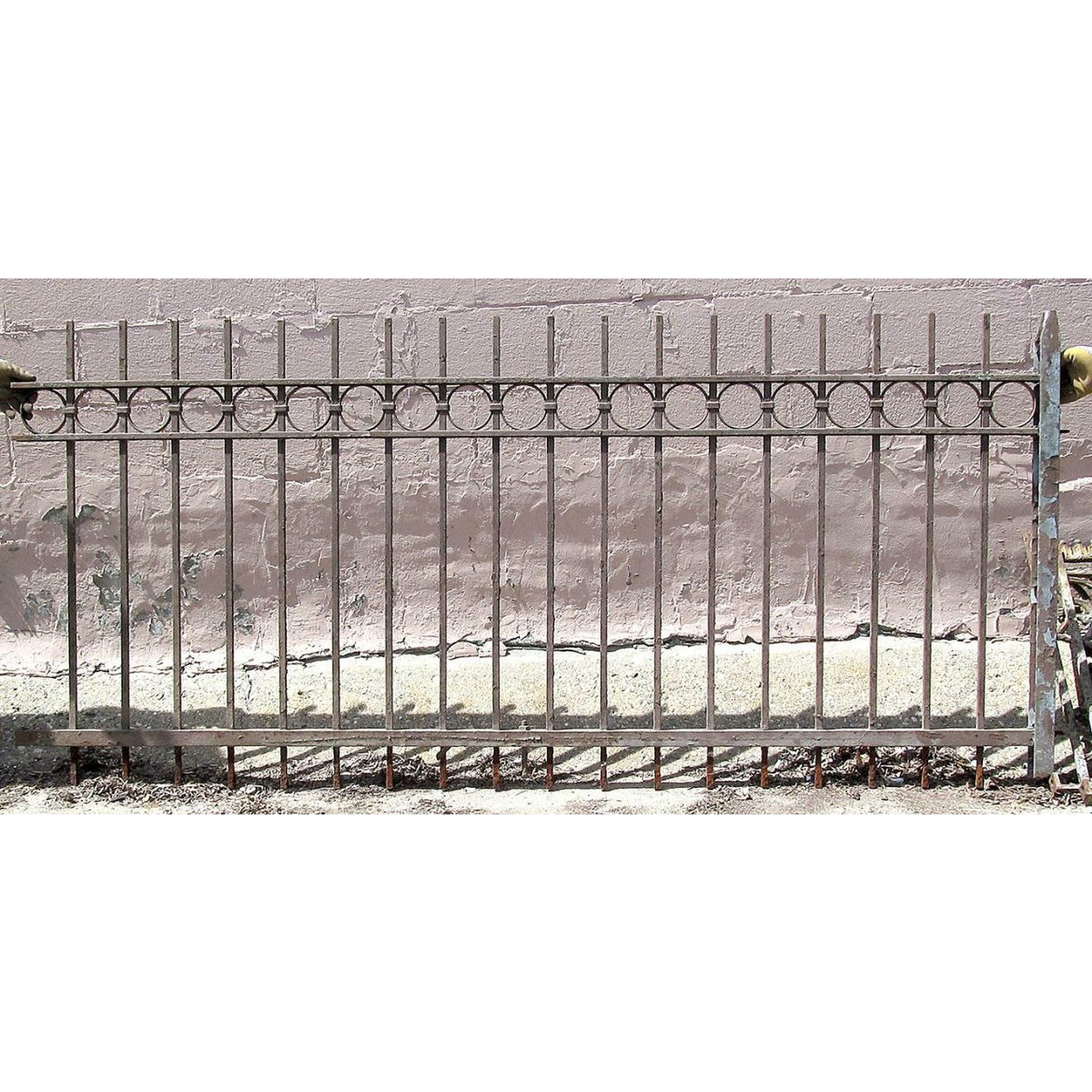 Antique Wrought Iron Fencing  S13061