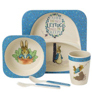 Peter Rabbit Dinner Set - Beatrix Potter Classic